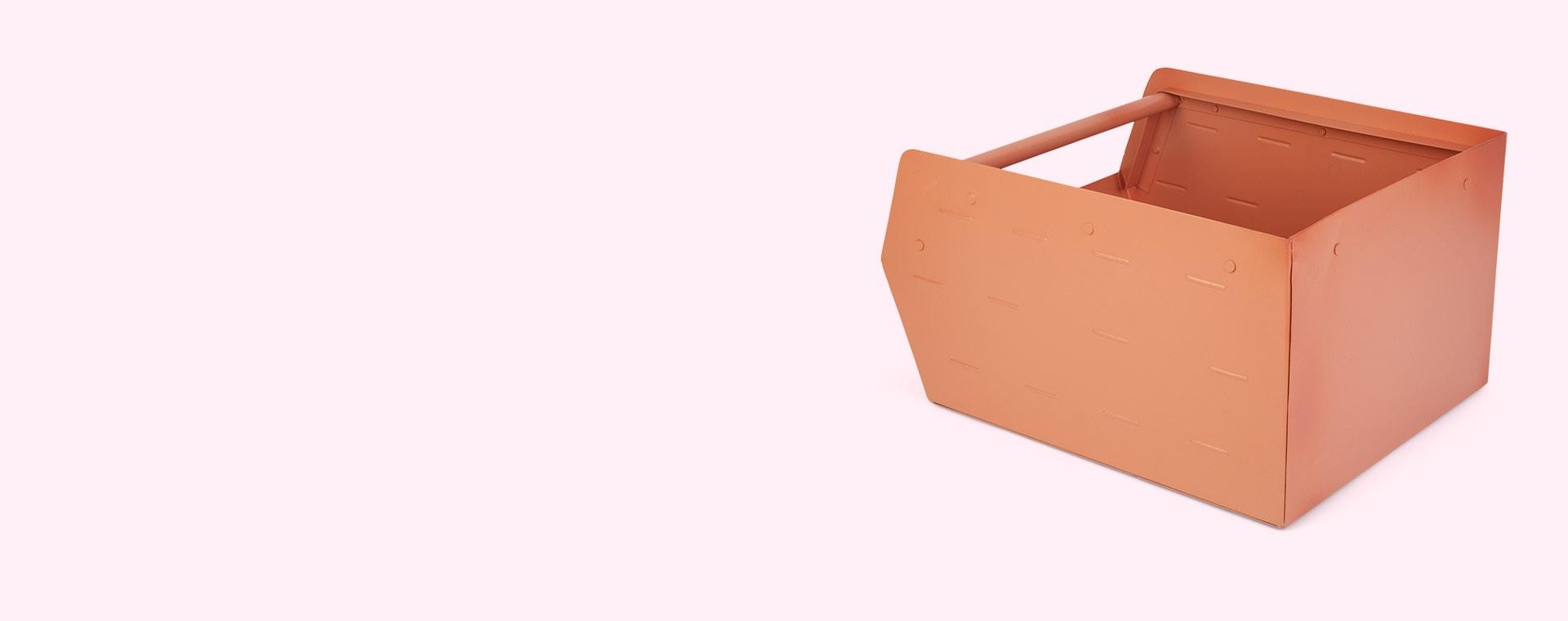 Pink Kids Depot Metal Storage Box
