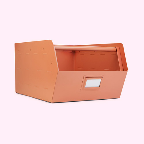 Pink Kids Depot Metal Storage Box