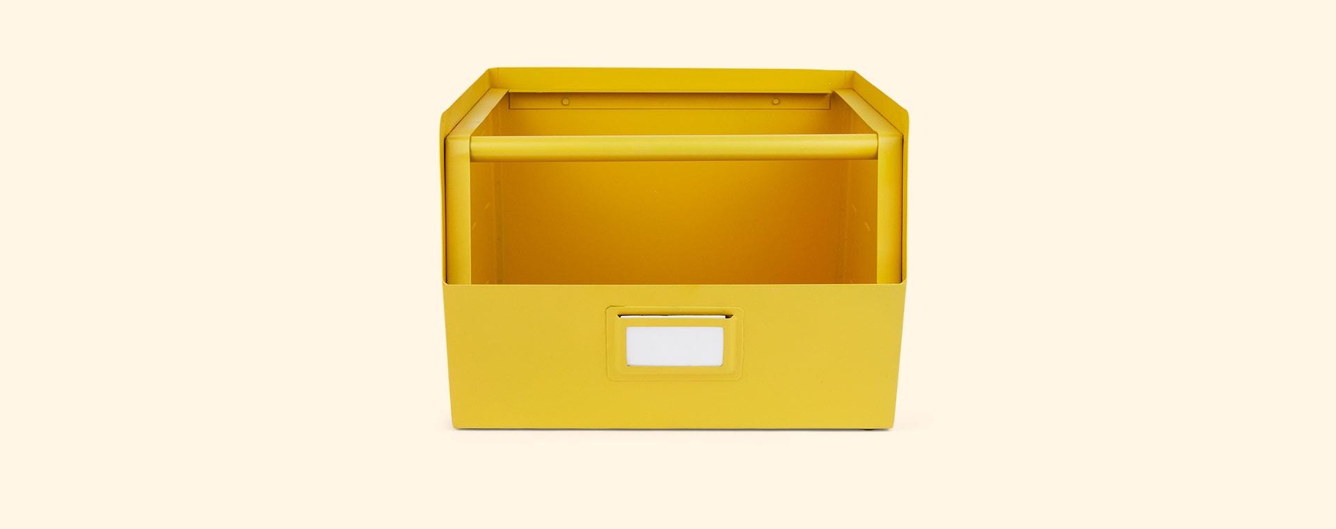 Yellow Kids Depot Metal Storage Box