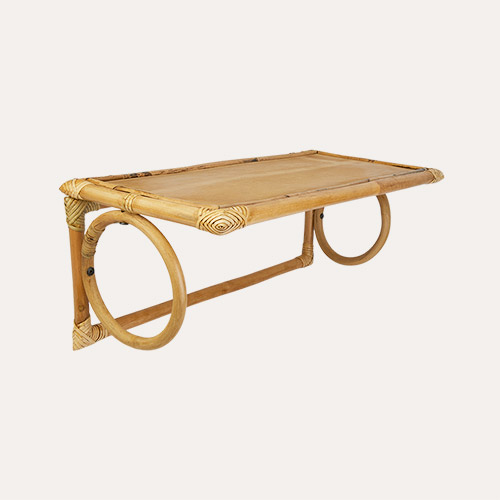 Natural Kids Depot Armin Rattan Shelf