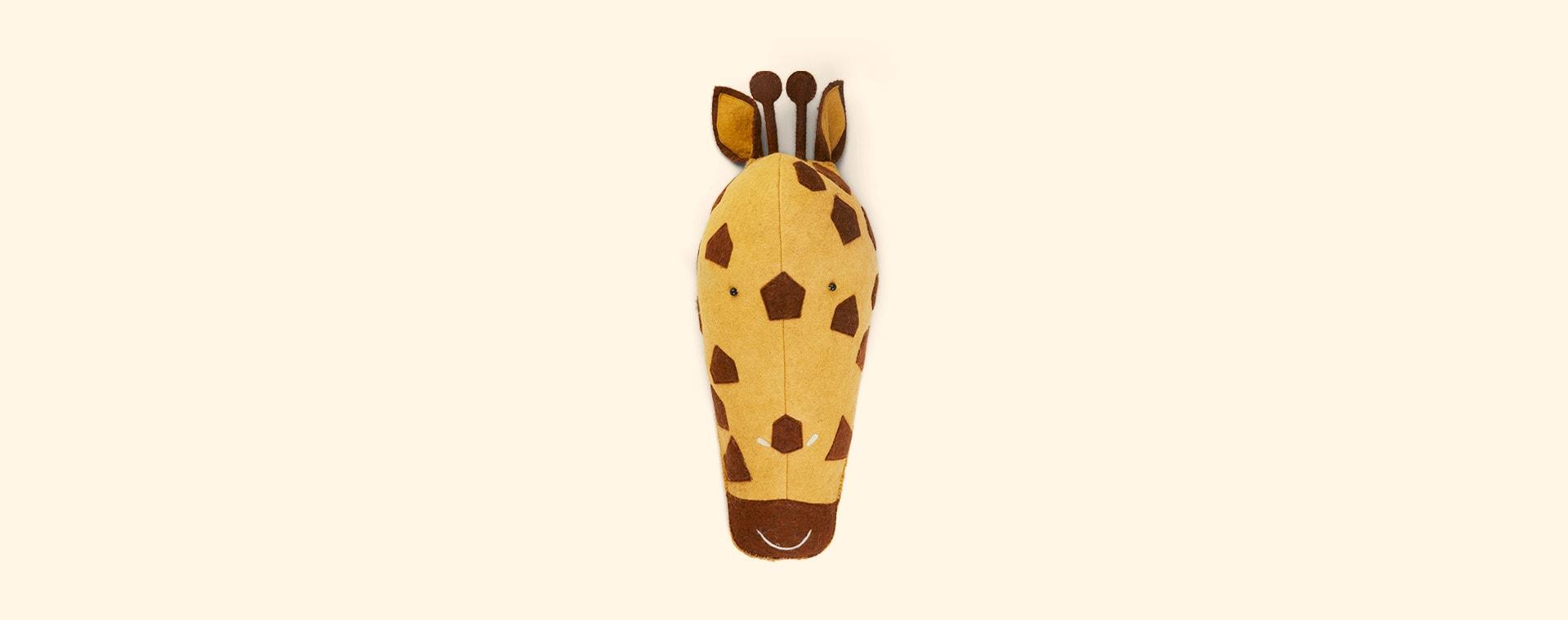 Giraffe Kids Depot Animal Head Wall Decor