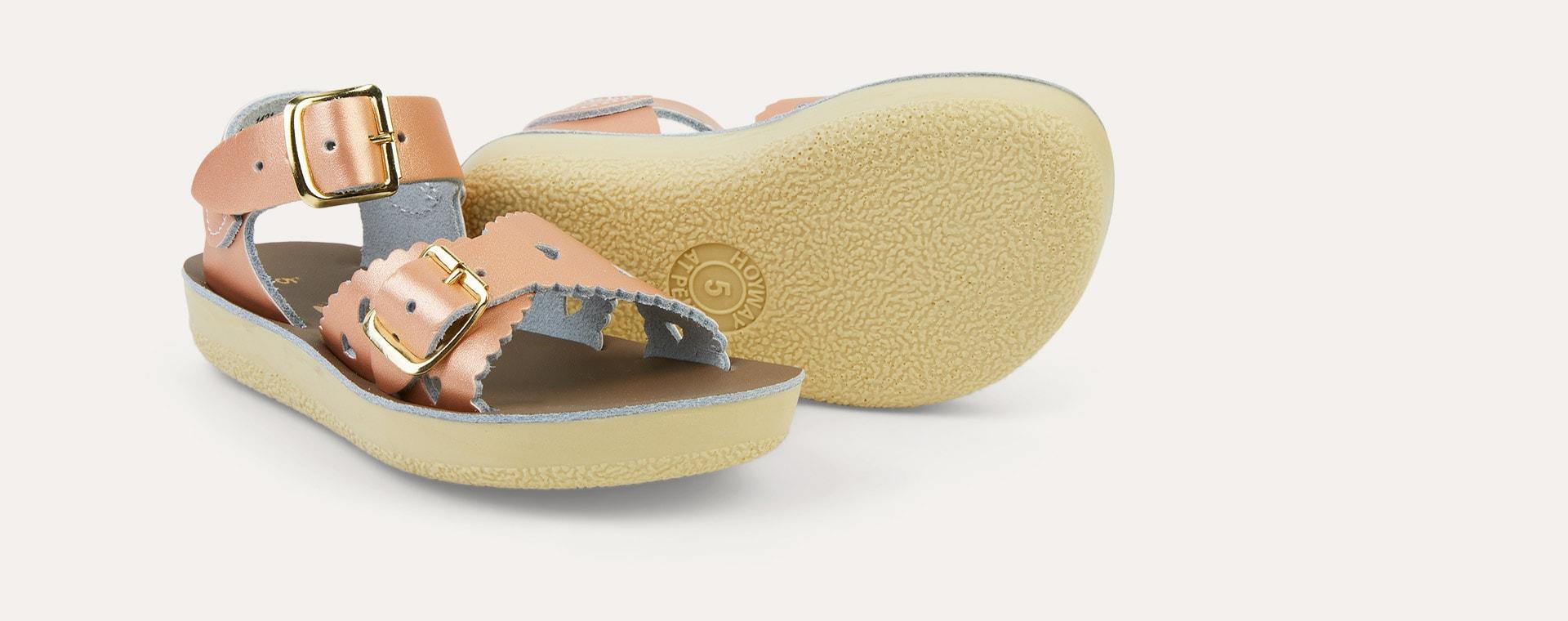 Rose Gold Salt-Water Sandals Sweetheart Sandal