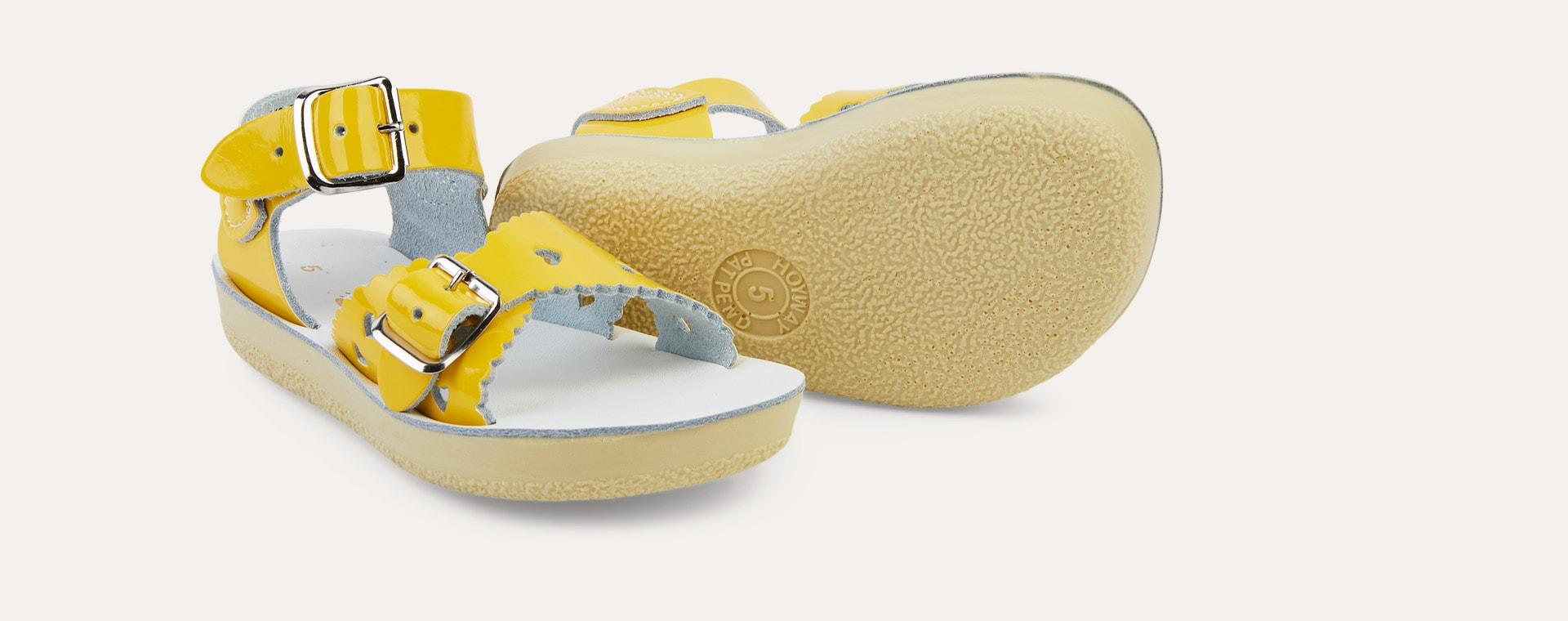 Yellow Salt-Water Sandals Sweetheart Sandal