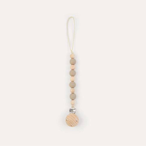 Taupe Nibbling Earth Dummy Clip