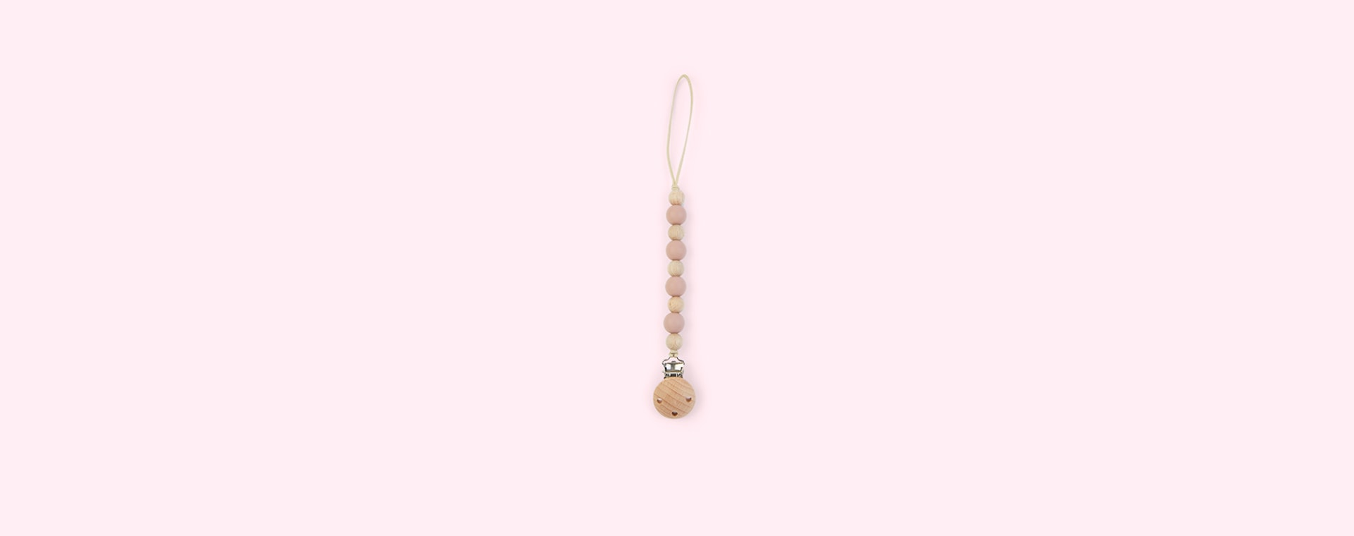 Blush Nibbling Earth Dummy Clip