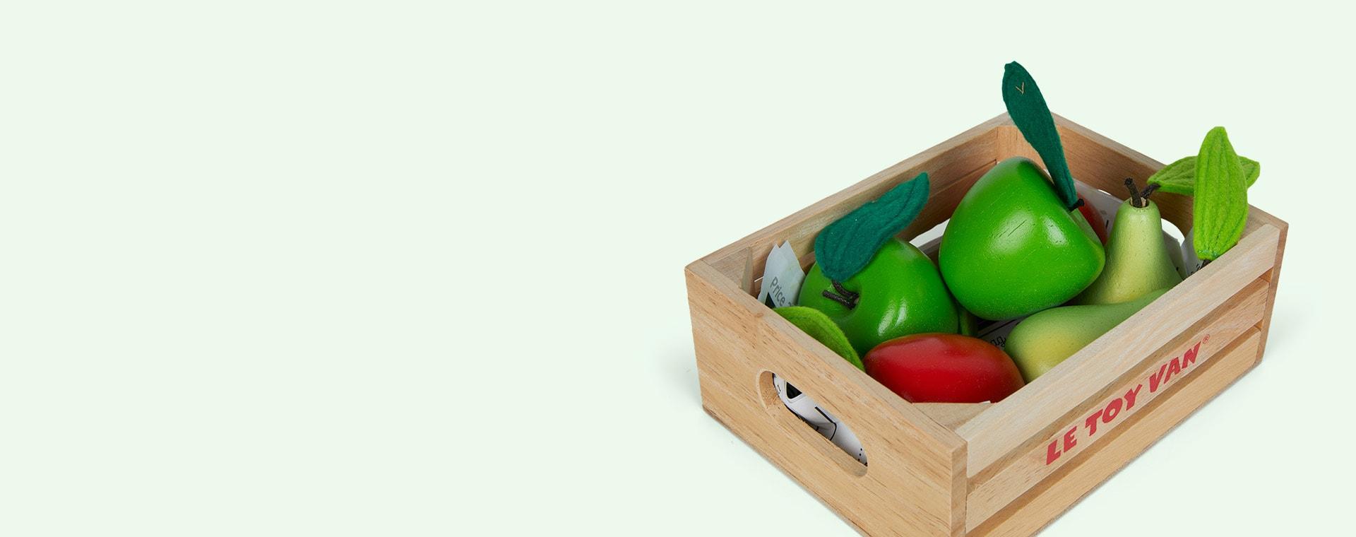 Multi Le Toy Van Apples & Pears Market Crate