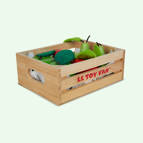 Multi Le Toy Van Apples & Pears Market Crate