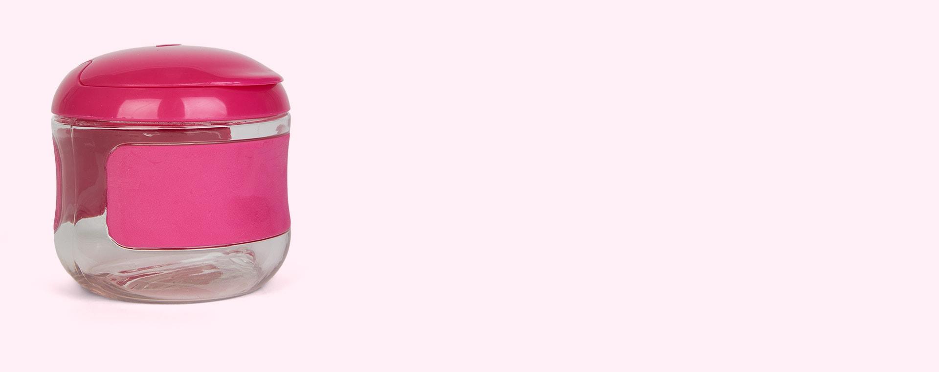 Raspberry Oxo Tot Flip Top Snack Cup