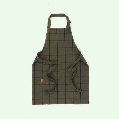 Green/Black Ferm Living Kids Hale Apron