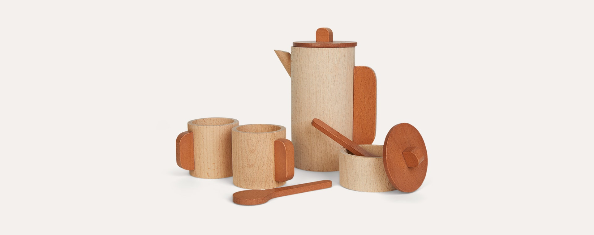 Neutral Ferm Living Toro Tea Set