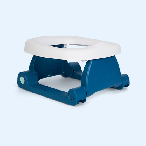 Space Blue Pottiagogo Folding Travel Potty