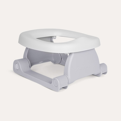 Pebble Grey Pottiagogo Folding Travel Potty