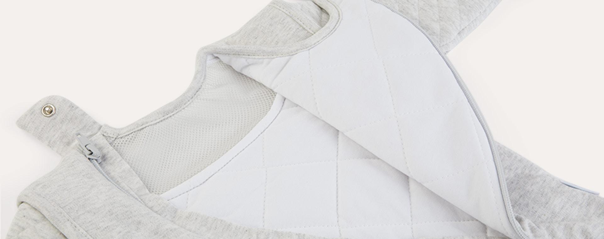 Minimal Grey PurFlo Baby Sleep Bag 2.5 Tog