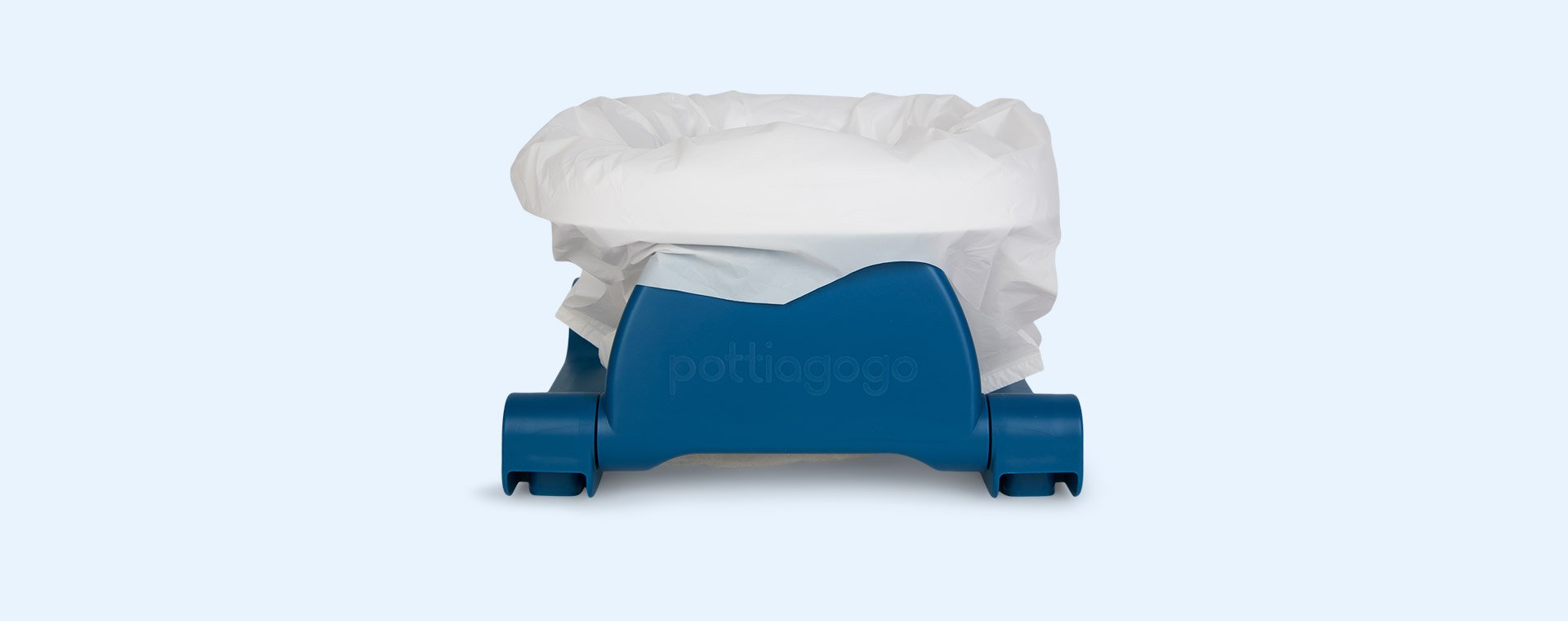 White Pottiagogo Biodegradable Potty Liners
