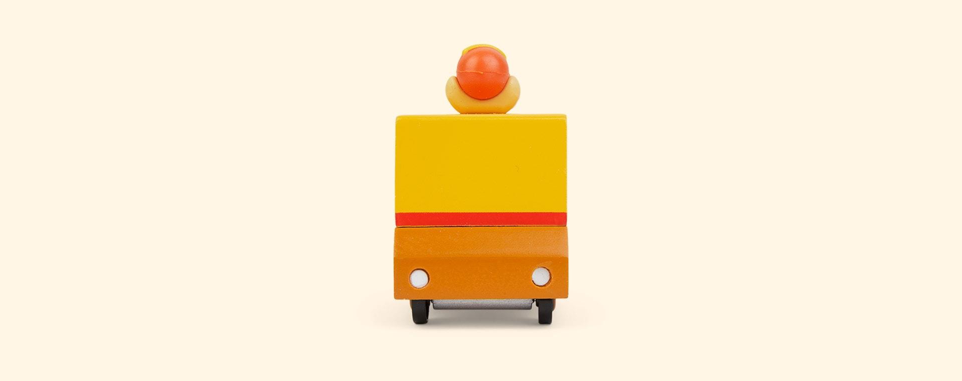Orange Candylab Hot Dog Van