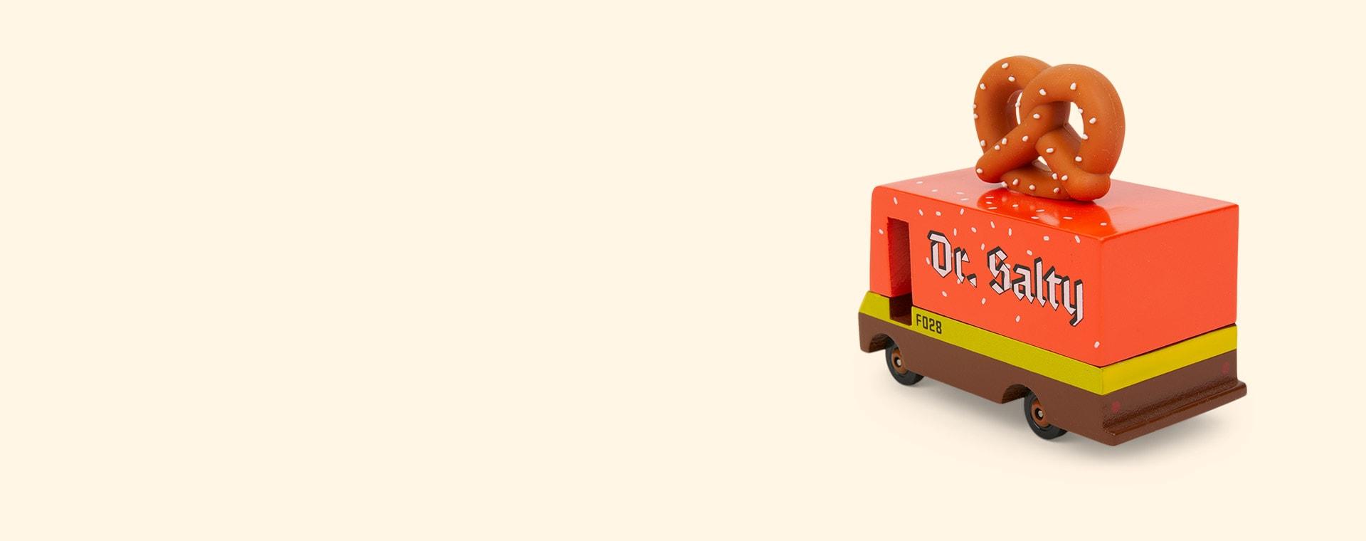 Brown Candylab Pretzel Van