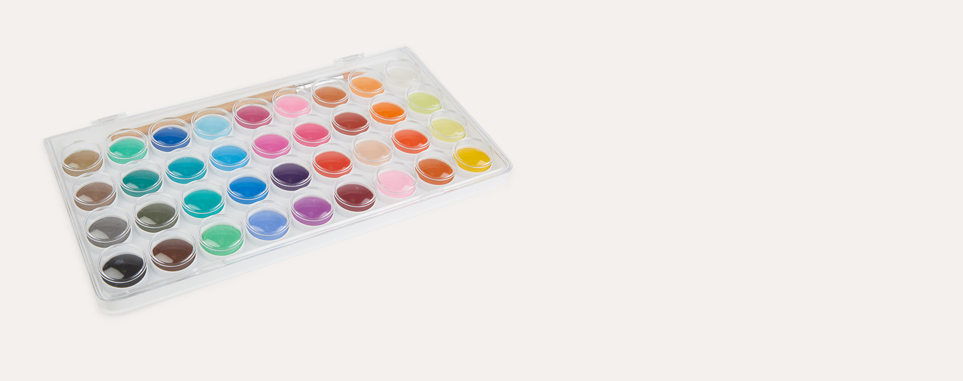 Multi Djeco 36 Colour Paint Cakes