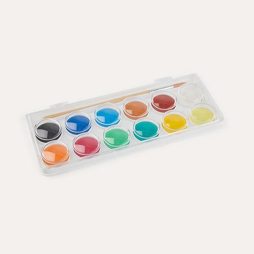 Classic Djeco 12 Colour Paint Cakes