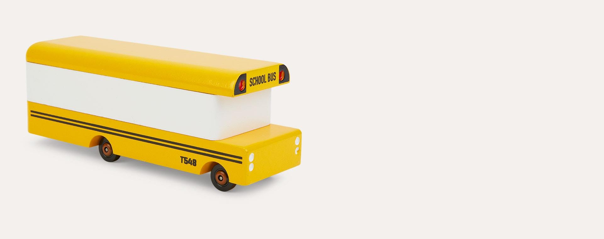 Yellow Candylab School Bus