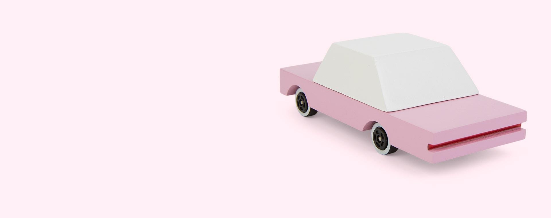 Pink Candylab Pink Sedan