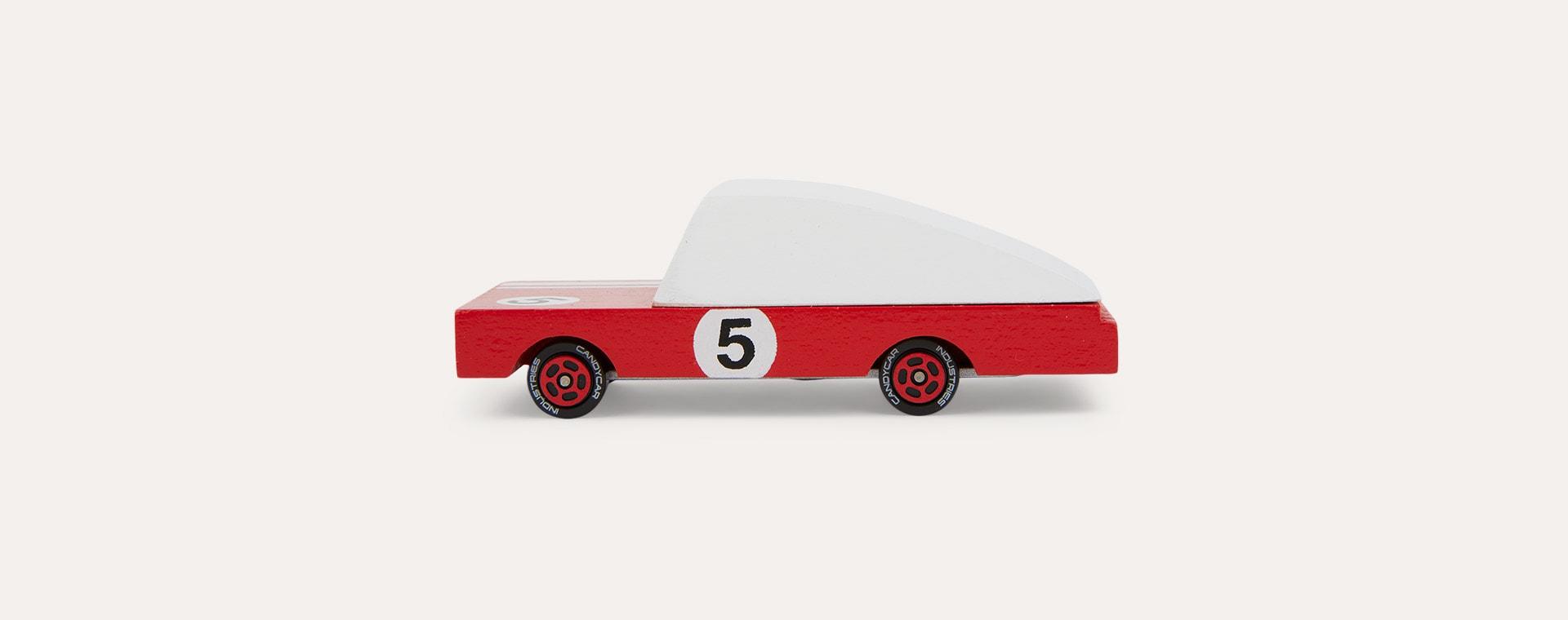 Red Candylab Red Racer Number 5