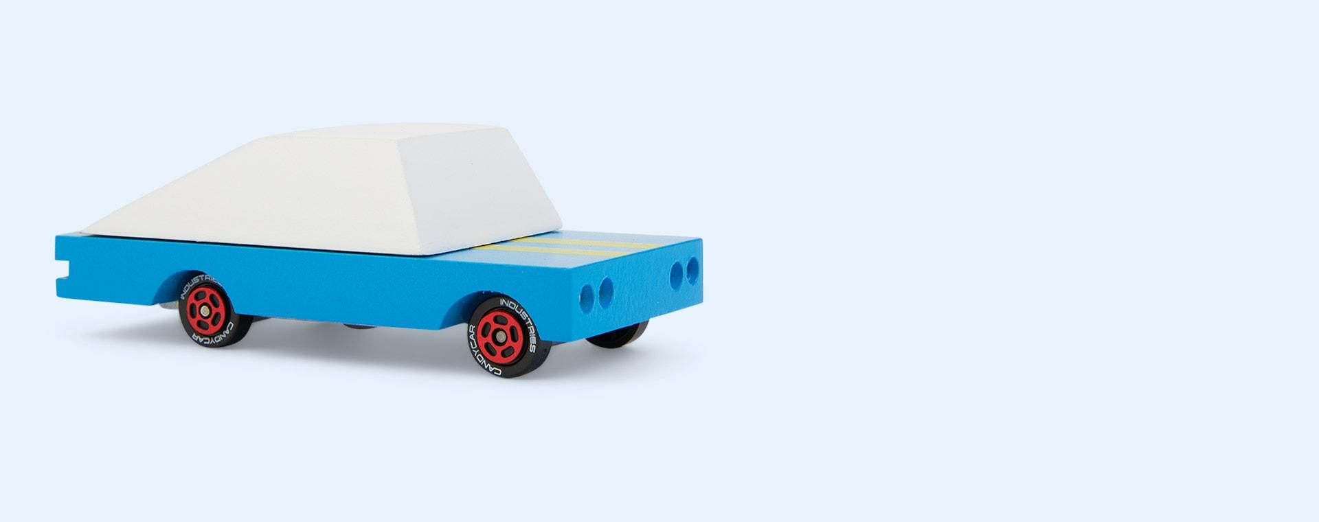 Blue Candylab Blue Racer Number 8