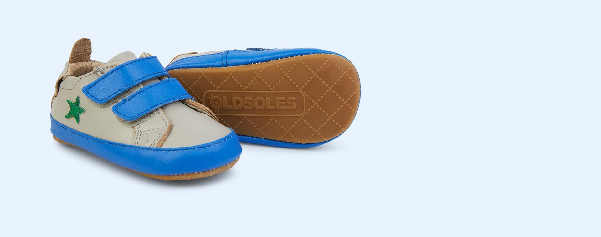 Gris/ Neon Blue/Neon Green old soles Star Market