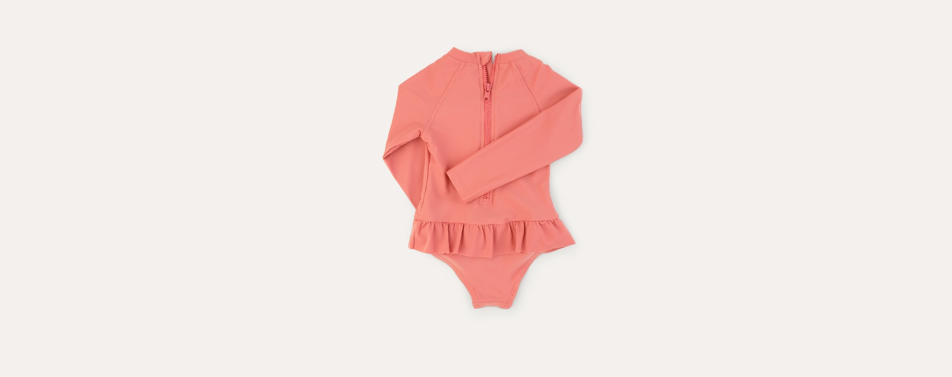 Coral KIDLY Label Recycled Long Sleeve Swimsuit