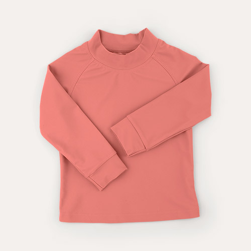 Coral KIDLY Label Recycled Rash Vest