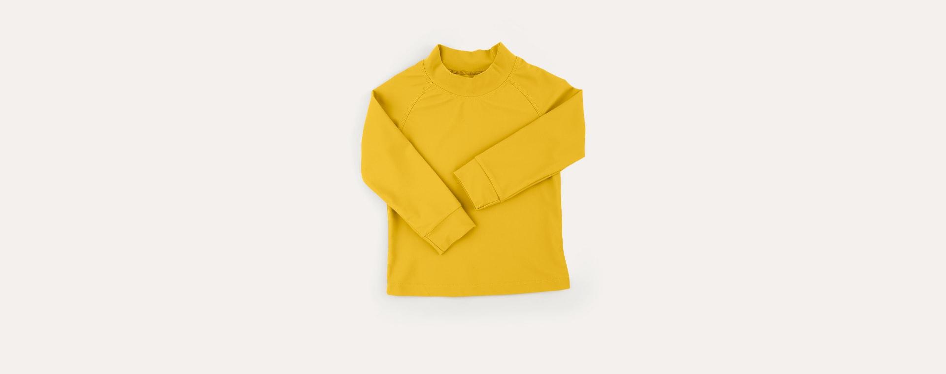 Mustard KIDLY Label Recycled Rash Vest