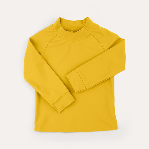 Mustard KIDLY Label Recycled Rash Vest