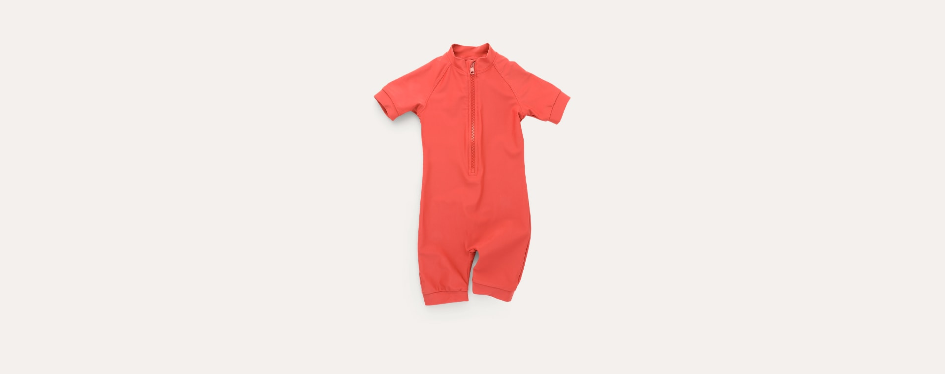Terracotta KIDLY Label Recycled Sun Suit