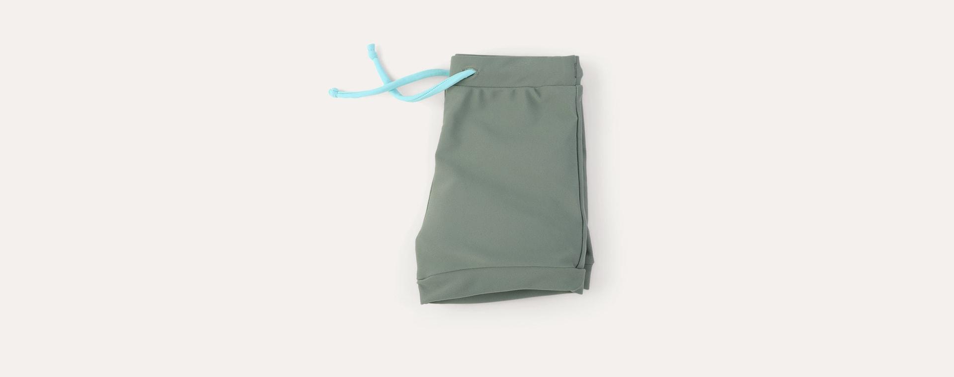 Olive KIDLY Label Recycled Swim Trunks