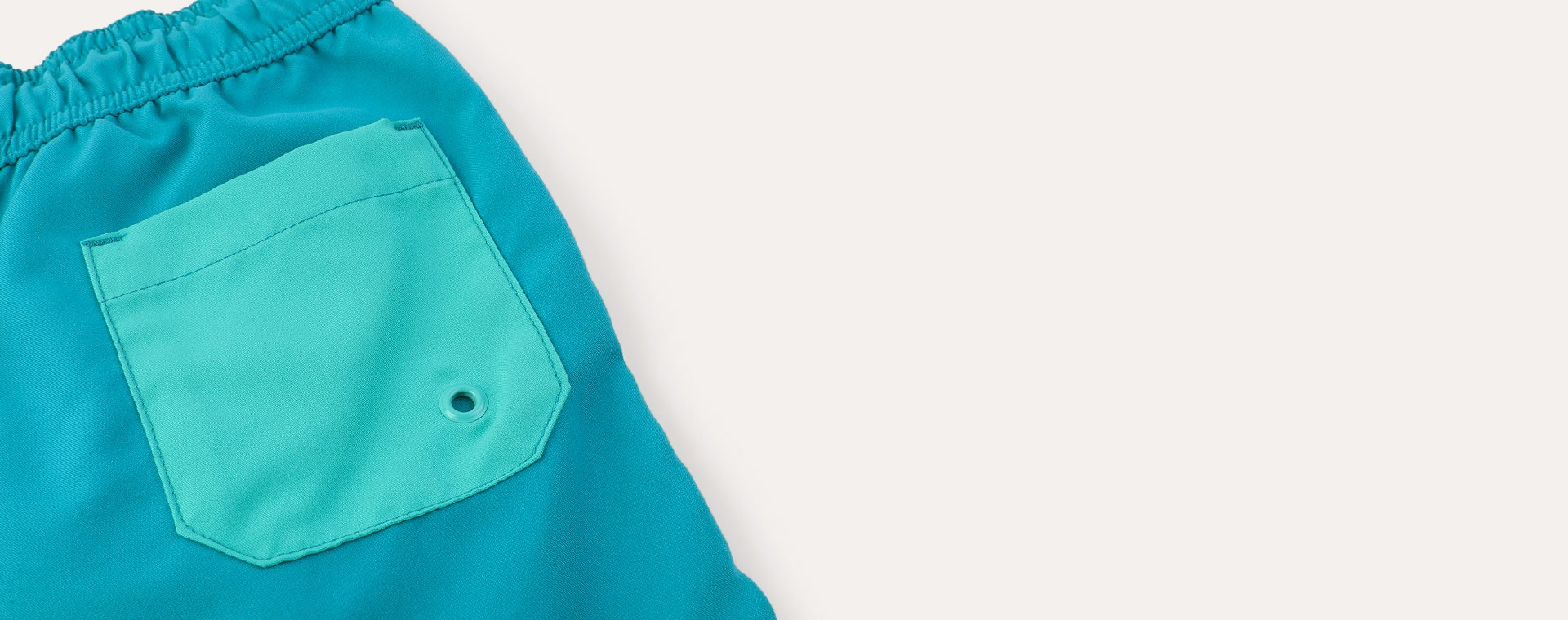 Teal Mix KIDLY Label Recycled Swim Shorts