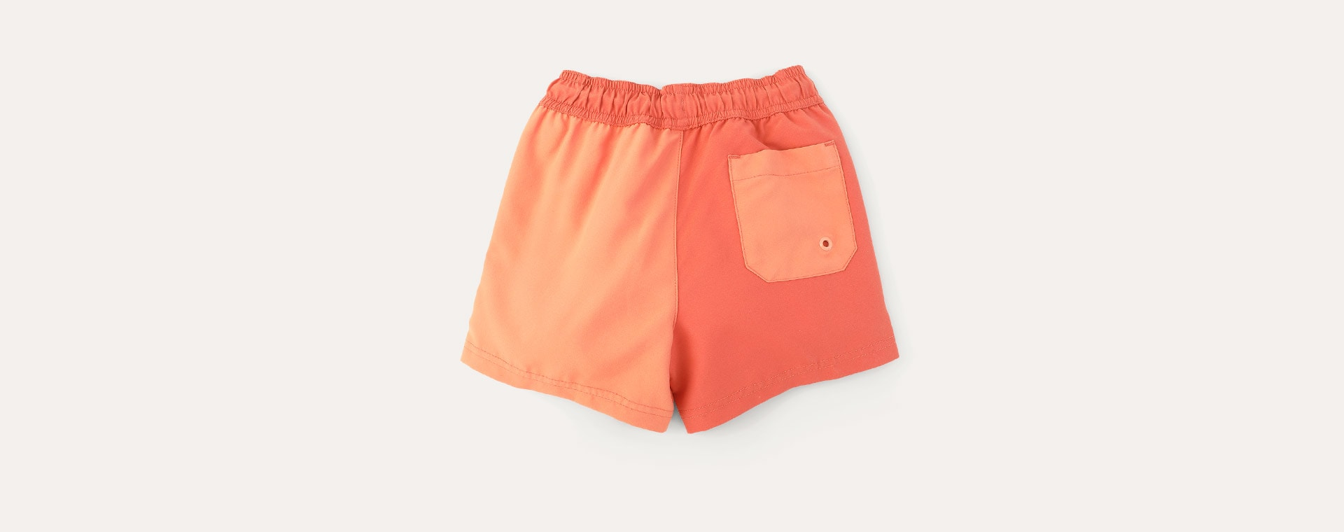 Coral Mix KIDLY Label Recycled Swim Shorts