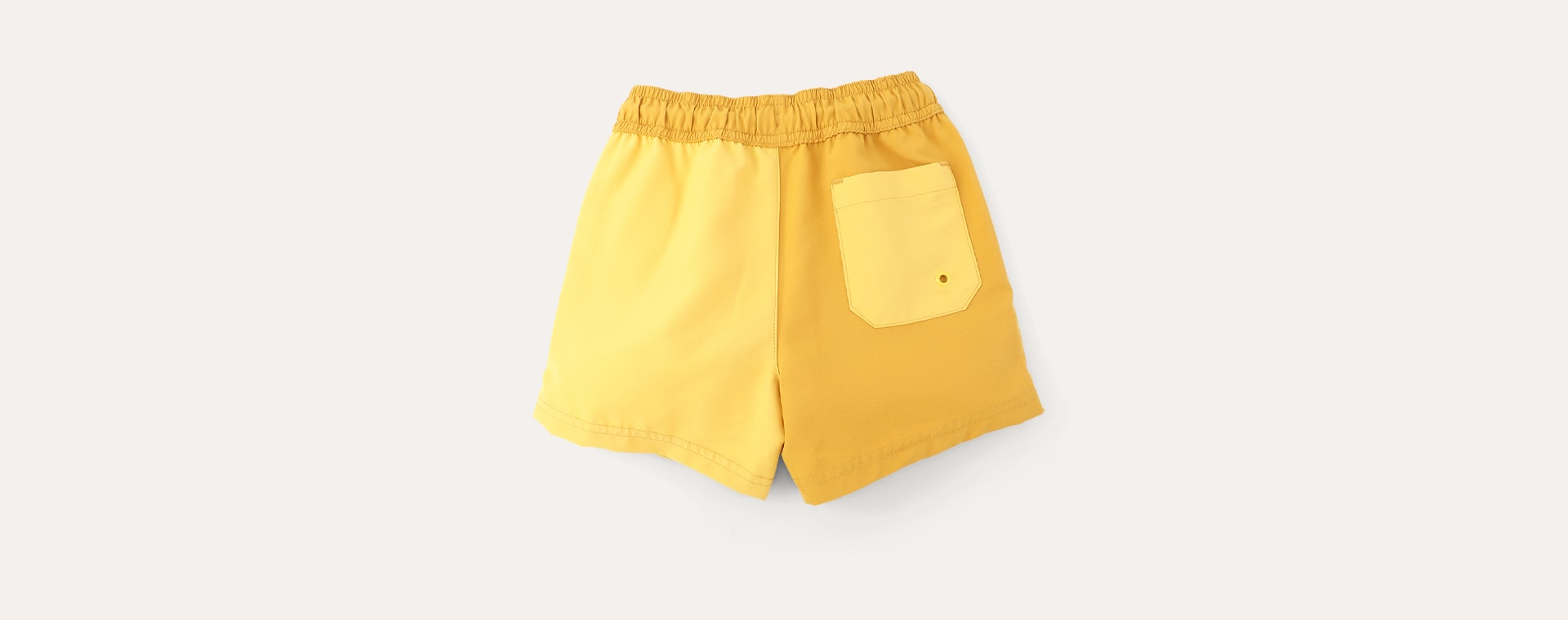 Mustard Mix KIDLY Label Recycled Swim Shorts