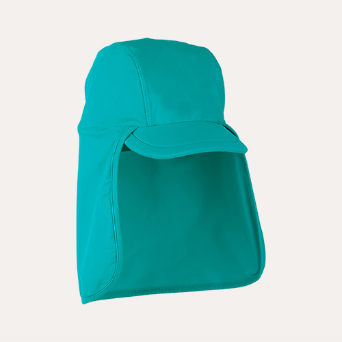 Teal KIDLY Label Recycled Sun Hat