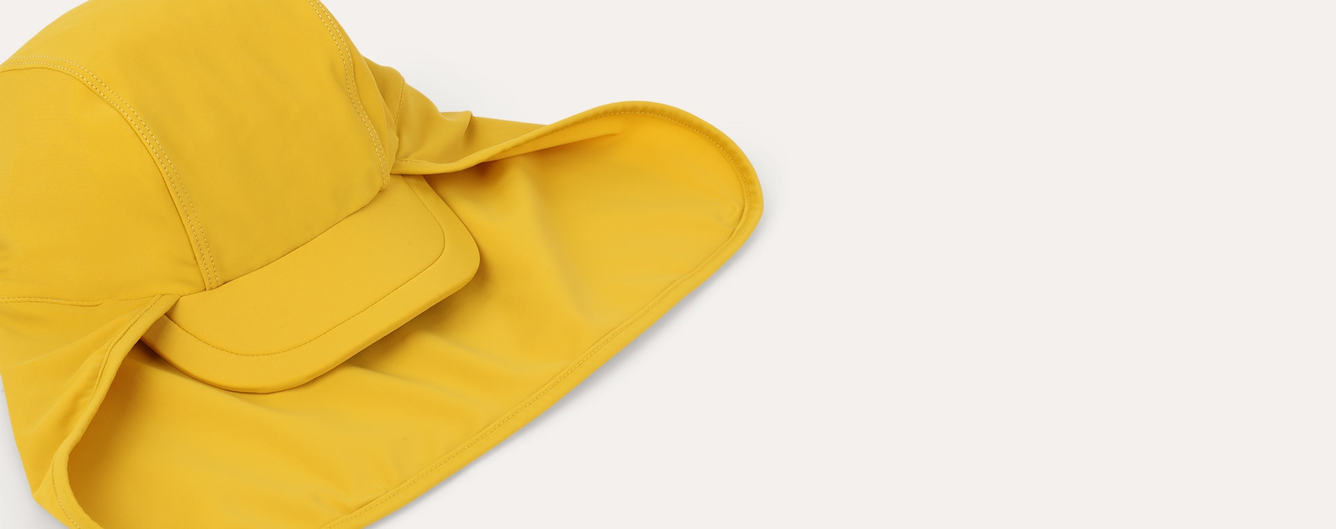 Mustard KIDLY Label Recycled Sun Hat