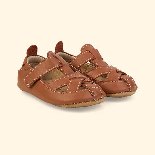 Tan old soles Thread Shoe