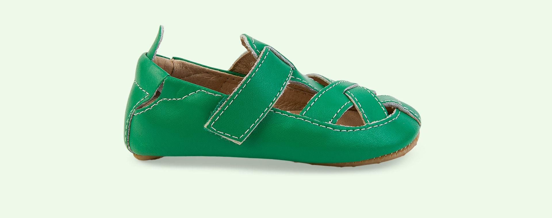 Neon Green old soles Thread Shoe