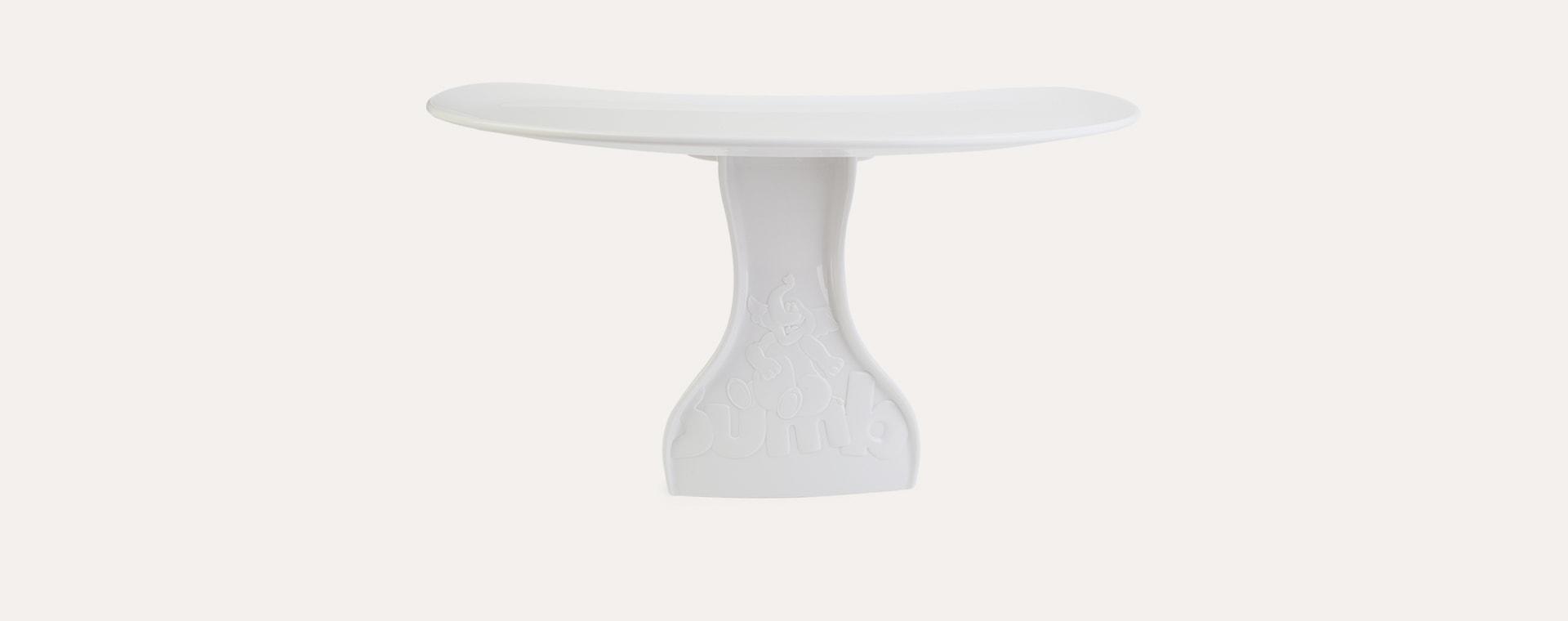 White Bumbo Floor Seat Tray