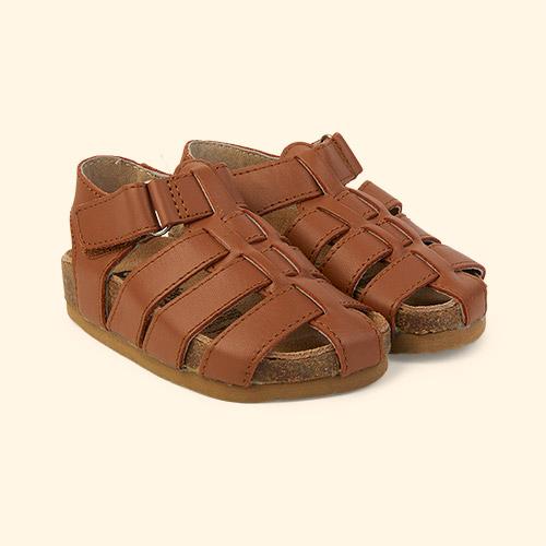 Tan old soles Roadstar Closed Sandal