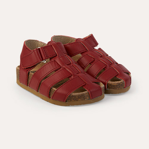 Red old soles Roadstar Closed Sandal