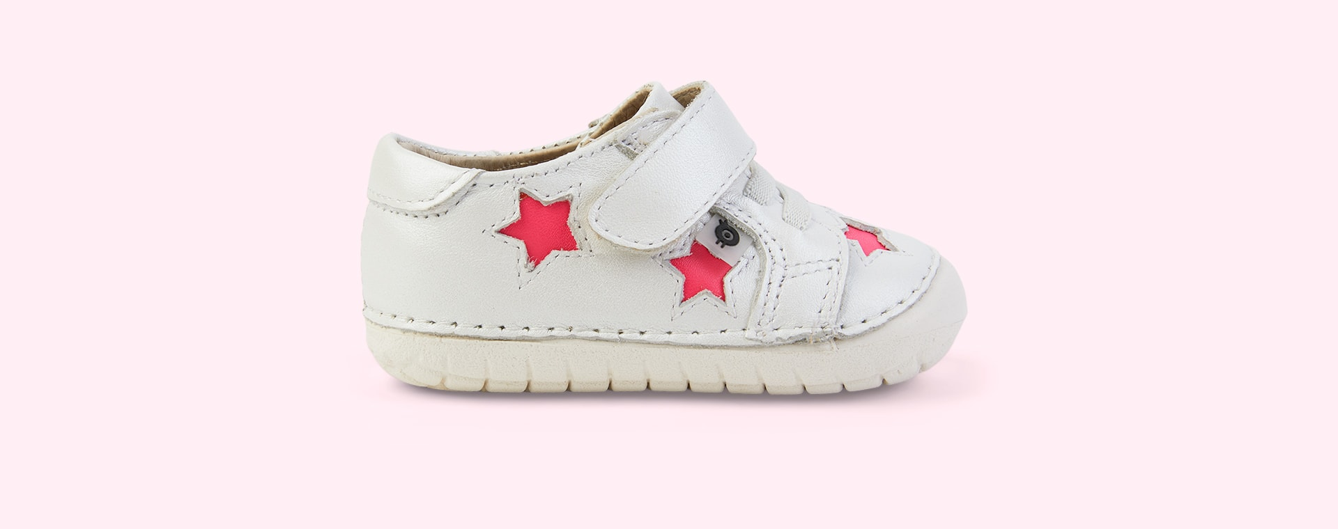 Nacardo Blanco/ Neon Pink old soles Starey Pave