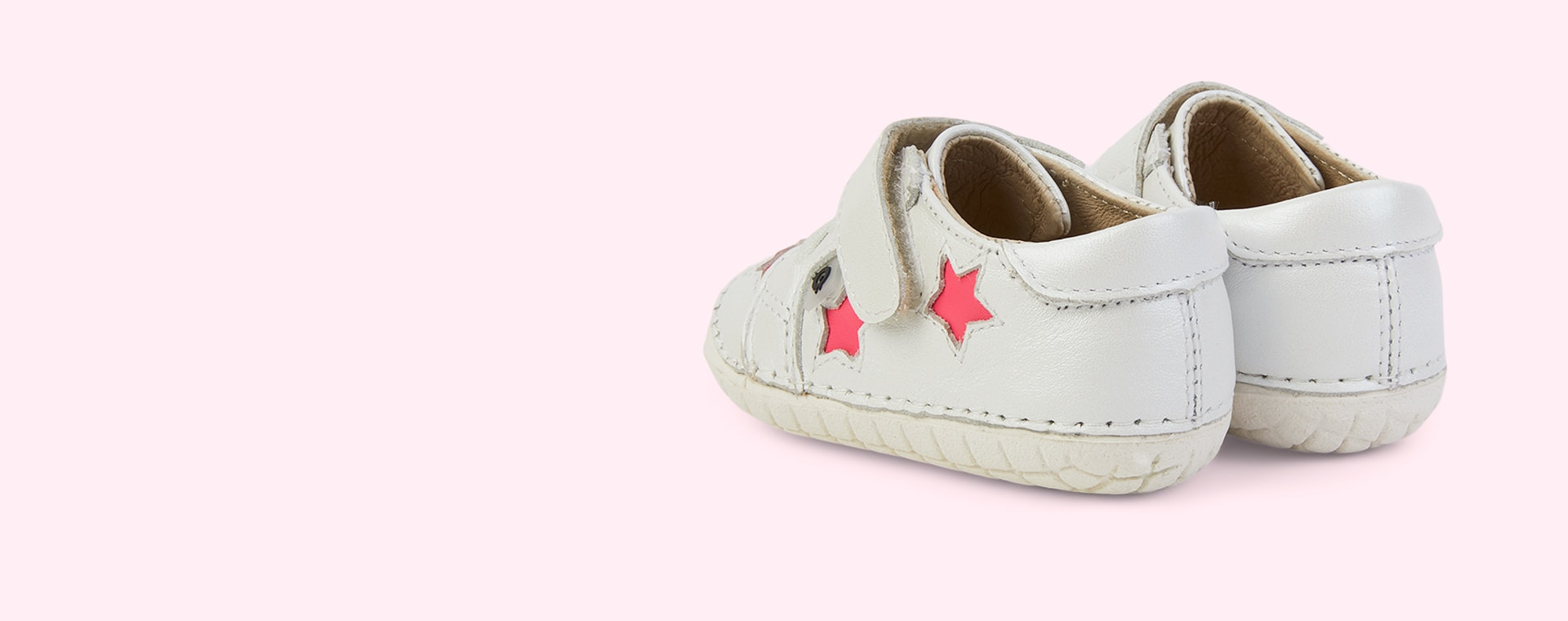 Nacardo Blanco/ Neon Pink old soles Starey Pave