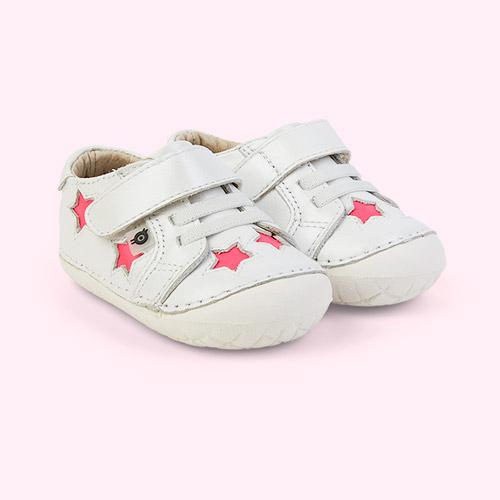 Nacardo Blanco/ Neon Pink