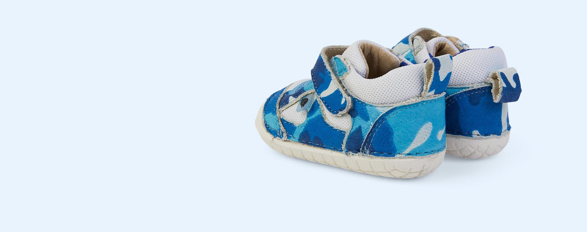 Sky Camo/ White/Cobalt old soles Bru Pave