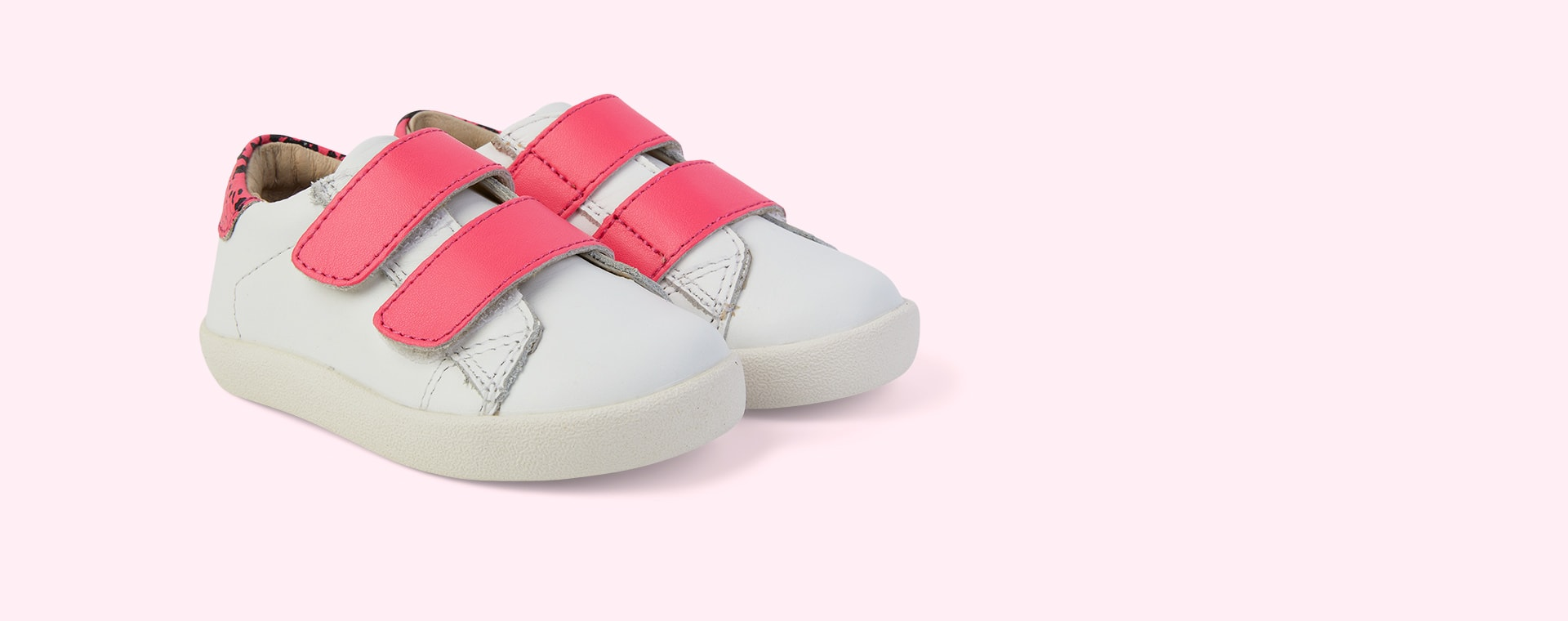 Snow/ Neon Pink Snake/Neon Pink old soles Chime Shoe