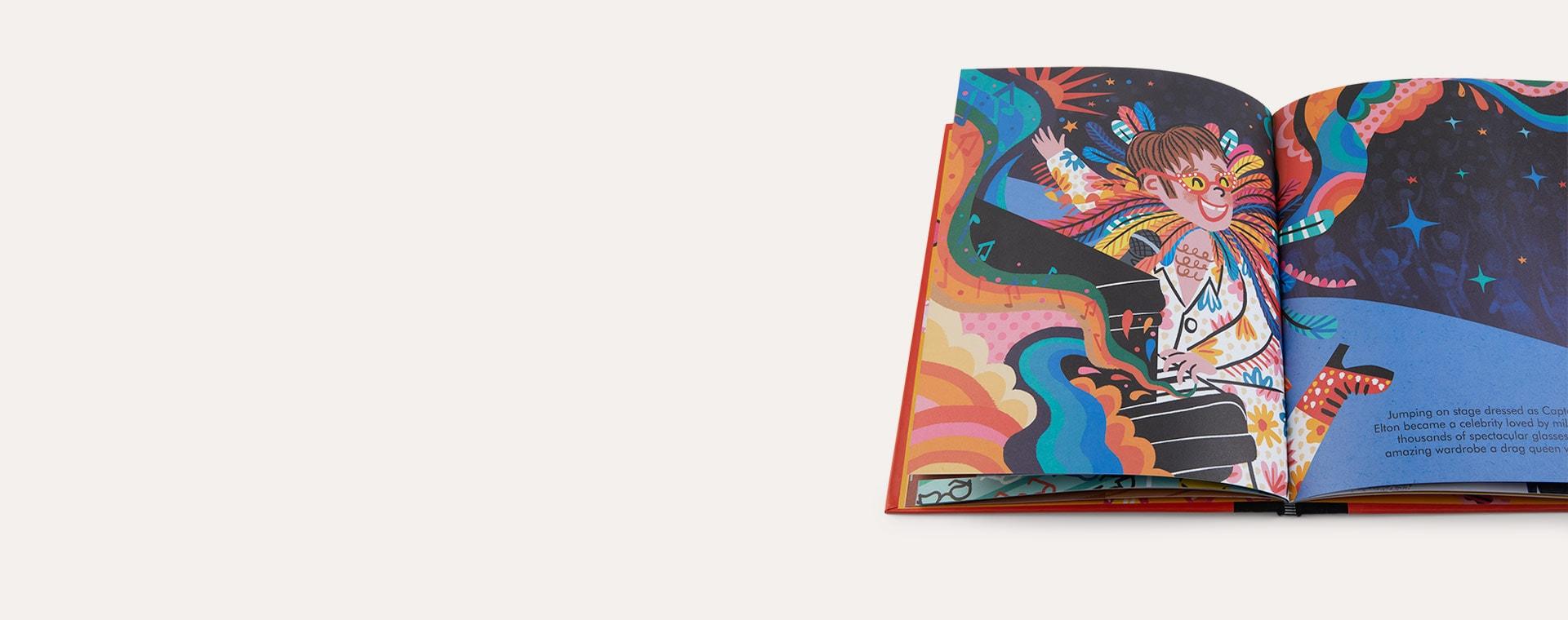 Multi bookspeed Little People Big Dreams: Elton John