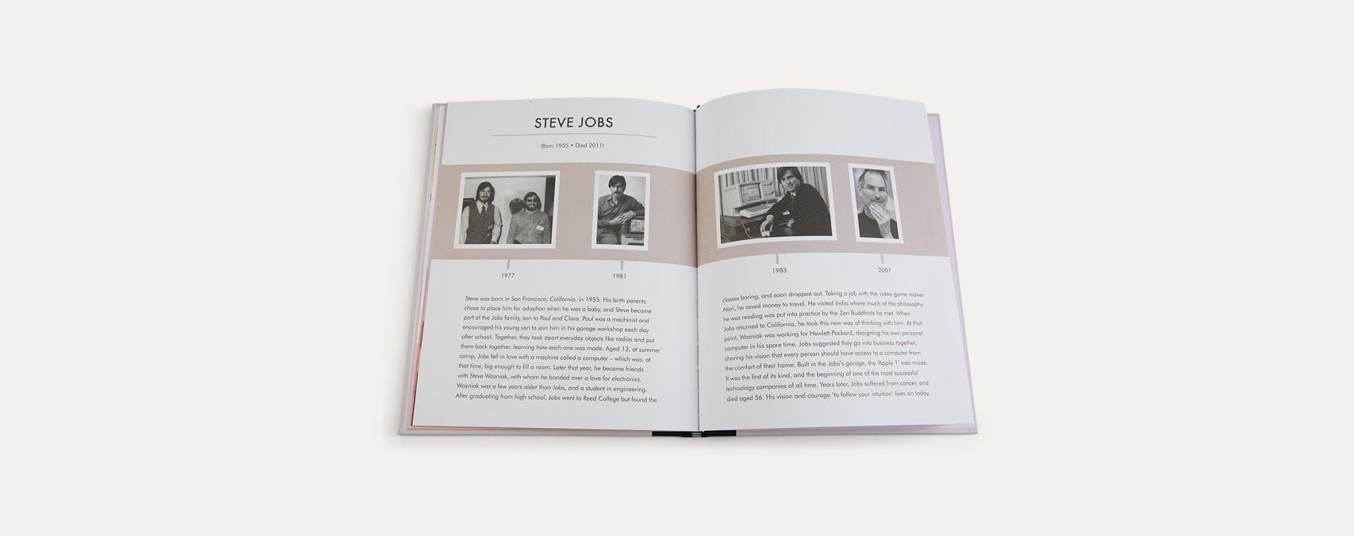 Multi bookspeed Little People Big Dreams: Steve Jobs